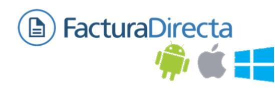 FacturaDirecta: Para gestionar facturas desde el móvil