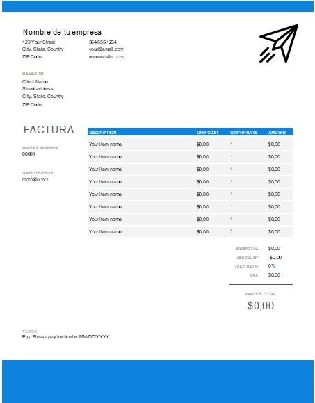 factura de alquiler 3